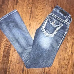 Day trip Lynx Bootcut Jean in size 25R